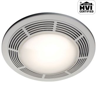 Decorative light bathroom exhaust fans ventingdirect - Decorative bathroom fans with lights ...