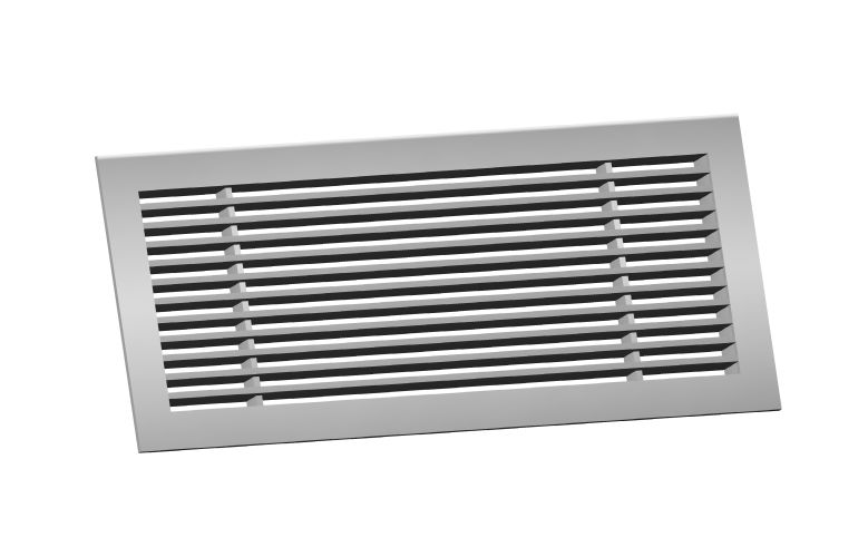 Linear Bar Grilles : Architectural grille bmp polished brass grilles