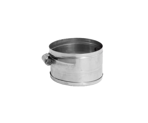 DuraVent 11VG-TCV Stainless Steel Flexible Liner 11 Inner Diameter - Ventinox Flexible Liner Chimney Relining - Single Wall - 2 Tee Cover