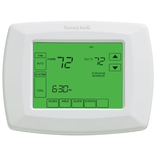 Honeywell 17320060 White Programmable Wi-Fi 7 Day Programmable Thermostat with Touchscreen