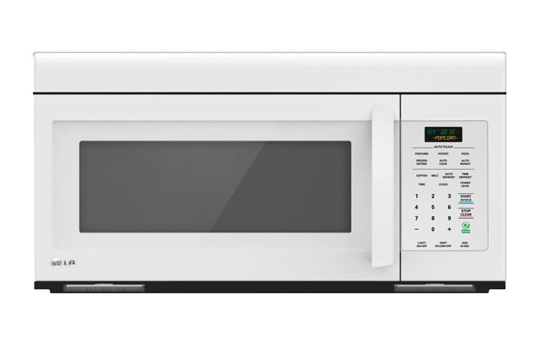 LG LMV1683SW White Microwave 1.6 Cu. Ft. Non-Sensor Over the Range Microwave Oven