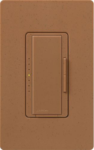 Lutron MSC-600M-TC Terracotta Maestro 120 Volt 600 Watt Single Pole/Multi Location Digital Fade Dimmer from the Maestro Collection