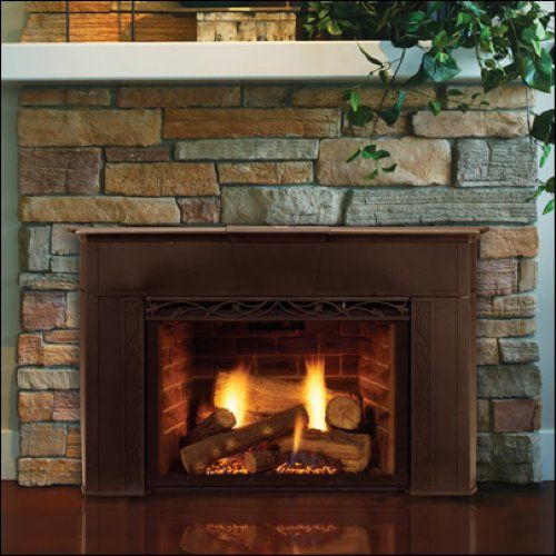 insert 30 30000 btu direct vent liquid propane gas fireplace insert