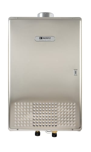 Noritz NC380-SV-ASME-LP Liquid Propane Commercial 380000 BTU Commercial Indoor Liquid Propane  On Demand Tankless Water Heater.