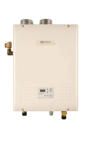 Noritz NH150-DV-LP Liquid Propane Whole House 150000 BTU Hydronic Boiler Indoor Liquid Propane  On Demand Tankless Water Heater.