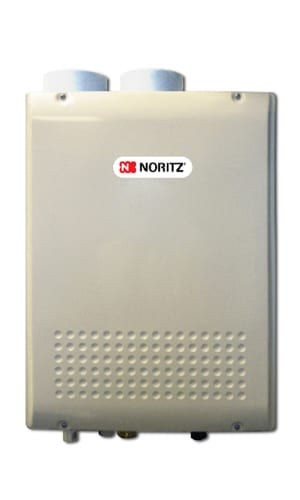 Noritz NRC98-DV-LP Liquid Propane Whole House 9.8 GPM Indoor Condensing (Direct Vent) Liquid Propane  On Demand Tankless Water Heater.