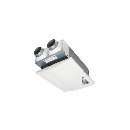 Panasonic FV-04VE1 White Filtration WhisperComfort 40 CFM 0.8 Sone Ceiling Mounted Spot Energy Recovery Ventilator with Balanced Ventilation