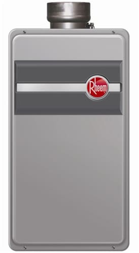 Rheem RTG-95DVLP Liquid Propane Whole House Liquid Propane Indoor Whole House Tankless Water Heater 9.5 GPM (Residential or Commercial)