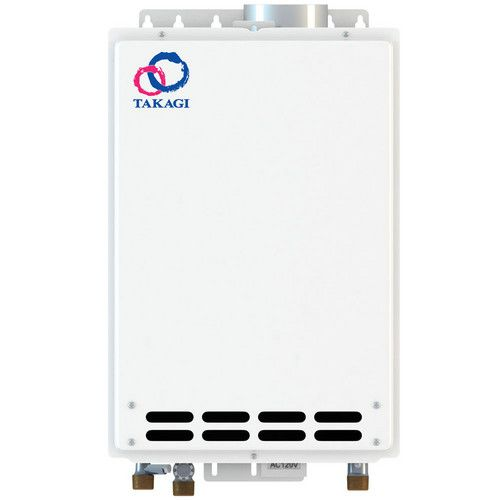 Takagi TKJR2INLP Liquid Propane Whole House Liquid Propane Compact Tankless Water Heater 6.6 GPM – Indoor