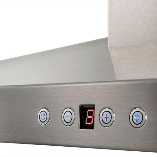 euro kitchen wall mount range hood