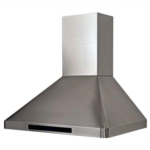 wall mount stainless range hood