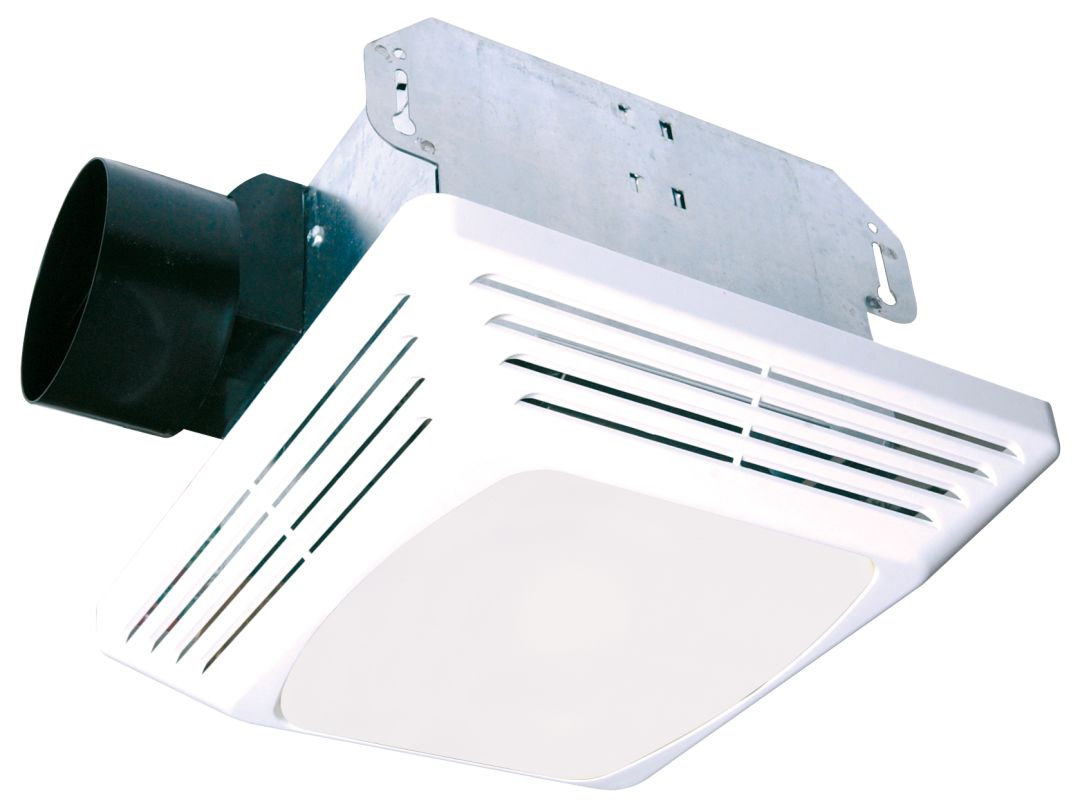 Air King Aslc70 White 70 Cfm Hvi Certifified 4 0 Sone Exhaust Fan With Light From The Advantage