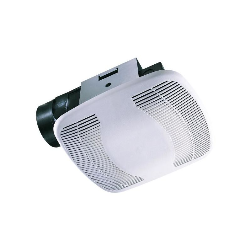 Air King Bfq110 White 110 Cfm 3 5 Sone Exhaust Fan With Snap In Installation From The High