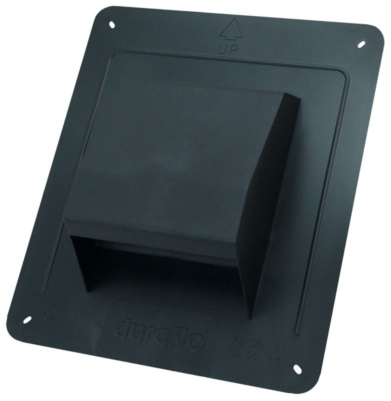 Air King Rcb Black 4 Quot Round Duct Plastic Roof Cap With
