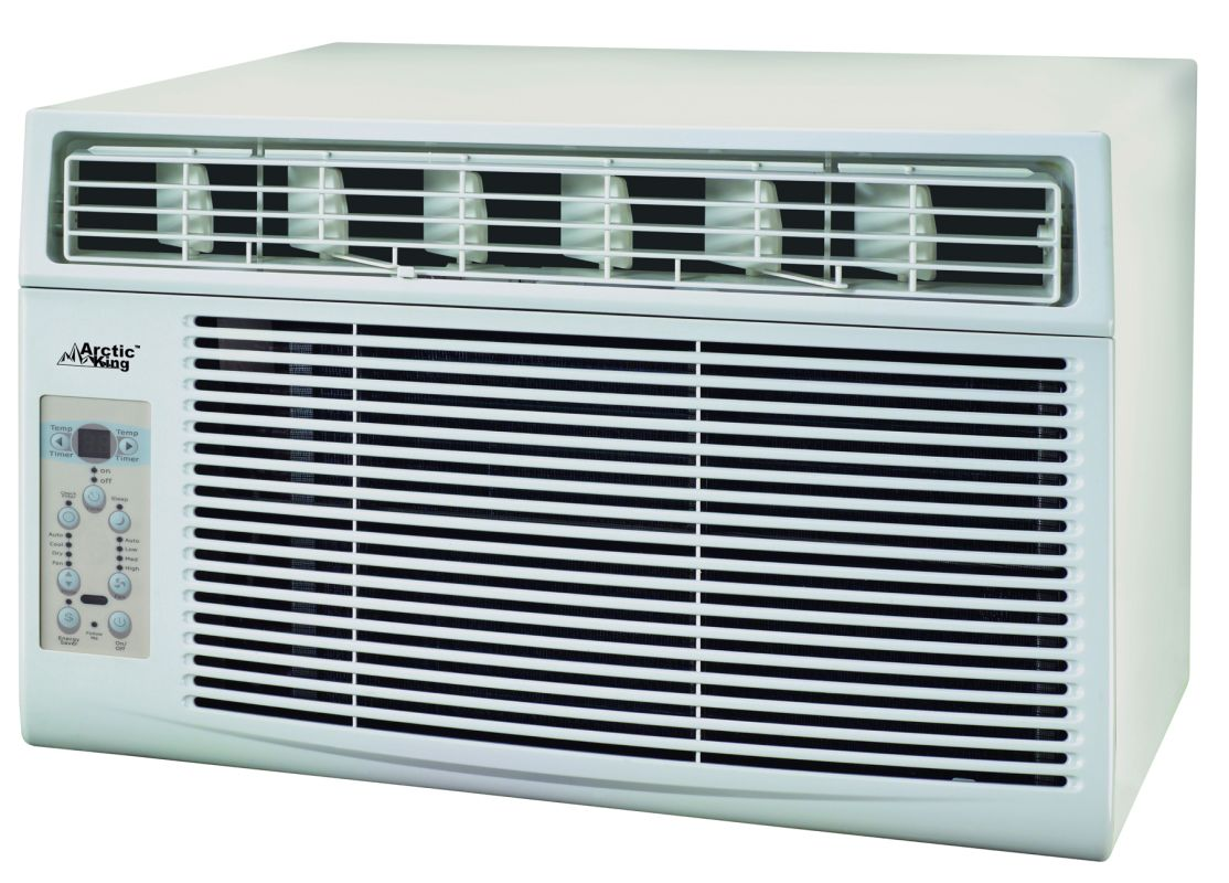 BTU 450 Square Foot Window Mounted Air Conditioner VentingDirect.com #13171C