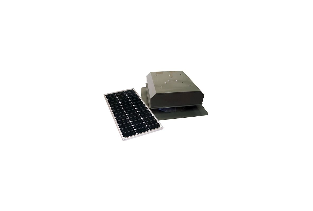Attic Breeze Ab 602 Gry Gray 2050 Cfm Roof Mounted Self
