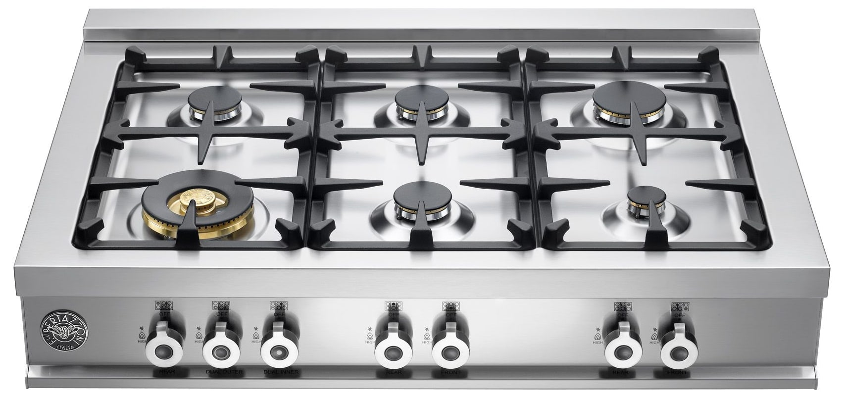 Bertazzoni gas range usa for Stove top with built in vent