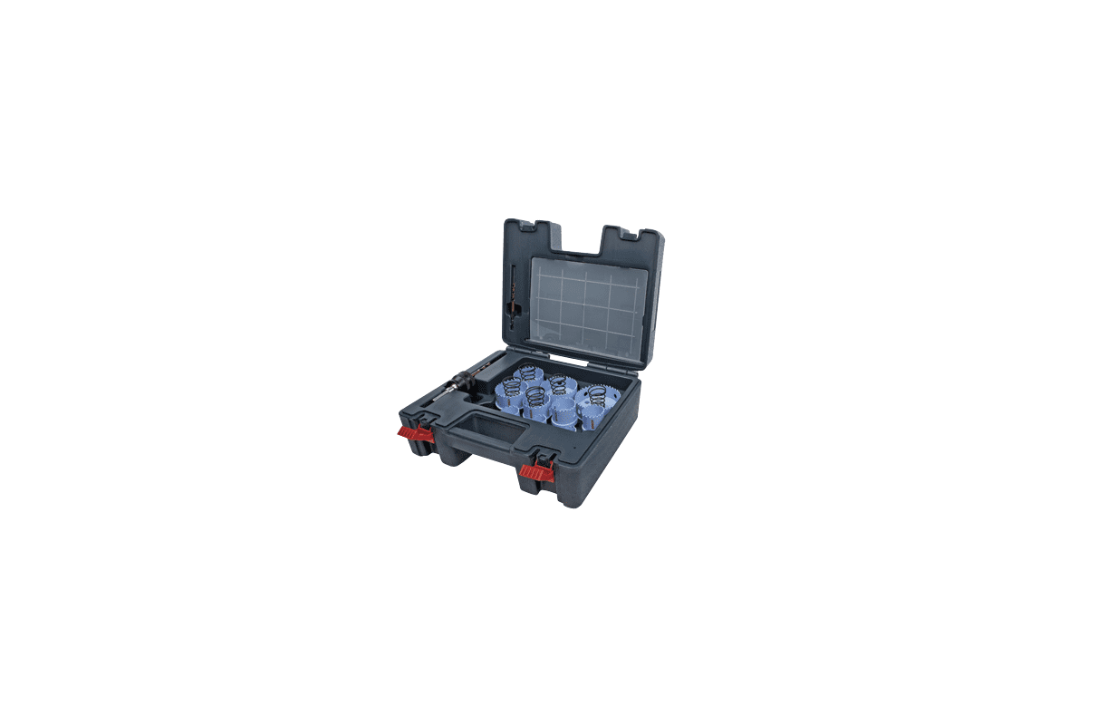 Bosch HSM23PCM Bit Sets Bosch HSM23PCM 23 Piece Sheet Metal Hole Saw Set