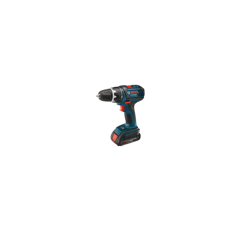 Bosch DDS181-03 N\/A Cordless Drills Bosch DDS181-03 18V Compact Tough Drill Driver with One 1.5Ah and One 3.0Ah Batt
