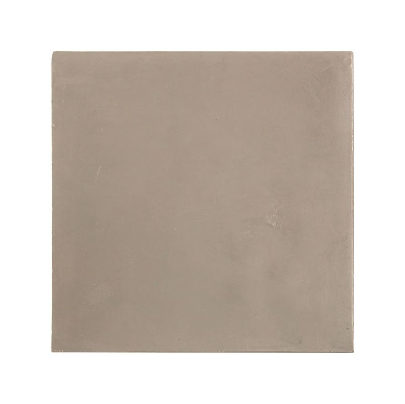 Brass Elegans 29FT-PWT Pewter Tile Brass Elegans 29FT PWT 4 x 4 Plain Series Range Hood Backsplash Tile