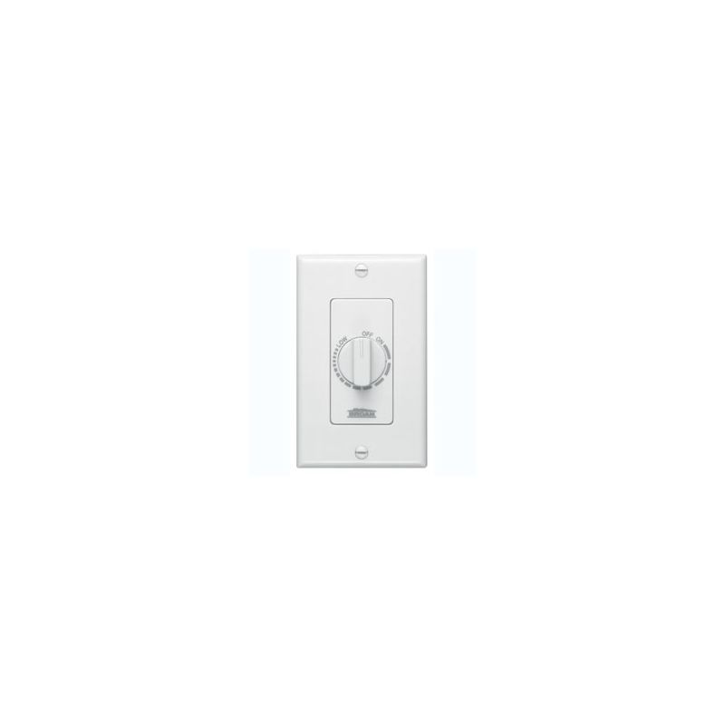 Broan 57w White Electronic Variable Speed Control Switch