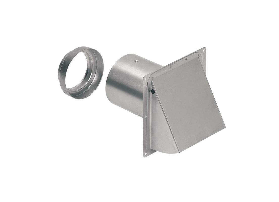 Broan 885ns N A Wall Cap For 3 Inch To 4 Inch Duct With No