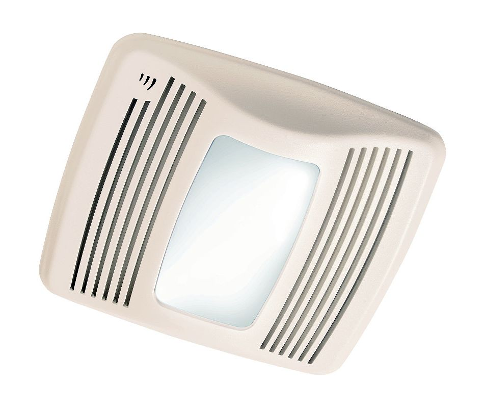 Broan Qtx110sl White 110 Cfm 0 9 Sone Ceiling Mounted Hvi Certified Bath Fan With Humidity