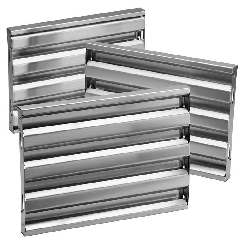how to clean range hood baffle filters