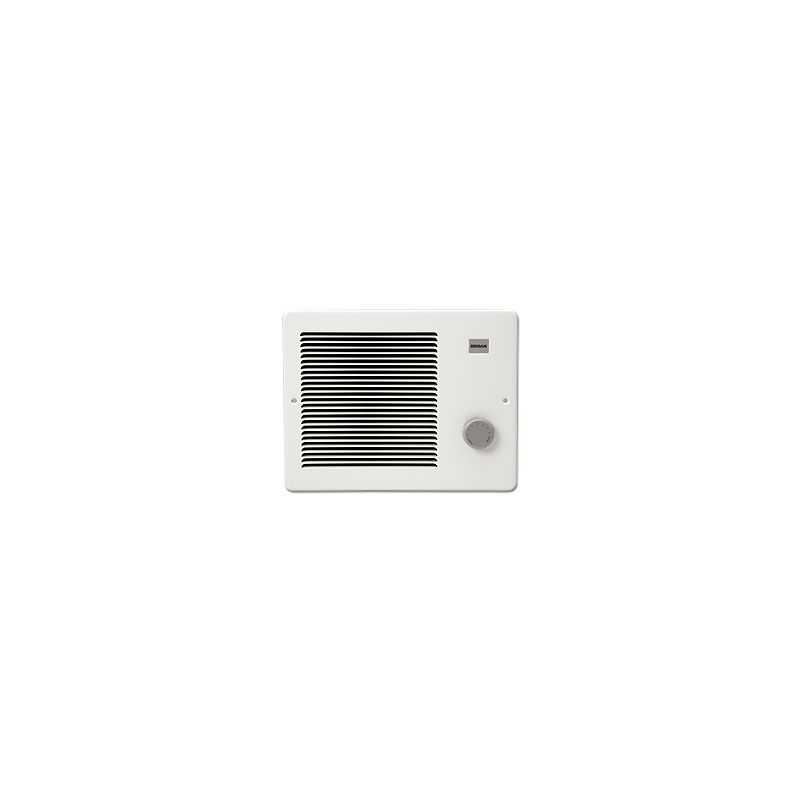 Broan 174 White Wall Heater With Built In Thermostat