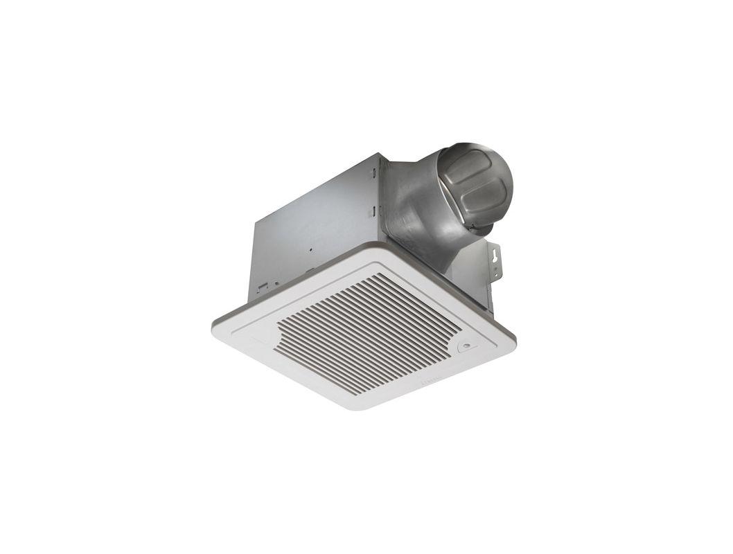 Delta electronics smt130h white 130 cfm bathroom exhaust for 3 bathroom exhaust fan