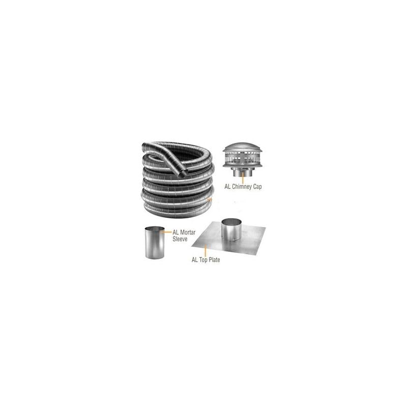 Duravent 5df304 25k Stainless Steel 5 Quot Inner Diameter