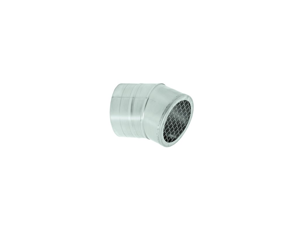 Duravent Fsbs10 Stainless Steel 10 Quot Inner Diameter Fasnseal Al29 4c Special Gas Vent Pipe Single Wall 23 Degree Bird Screen Termination