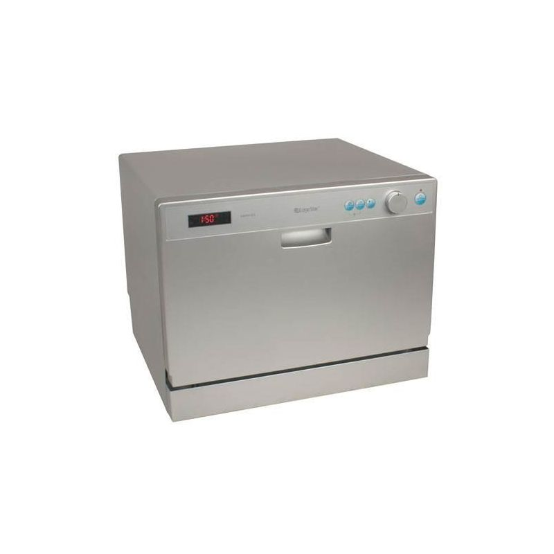 Countertop Dishwasher Magic Chef : ... countertop dishwasher with compact edgestar dwp61es silver countertop