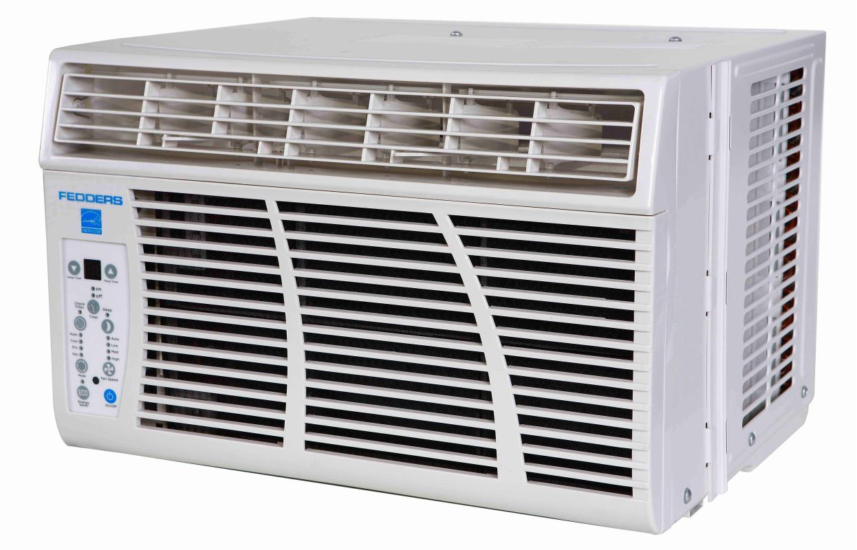 115V Window Air Conditioner with 3 500 BTU Electric Heater #1E68AD