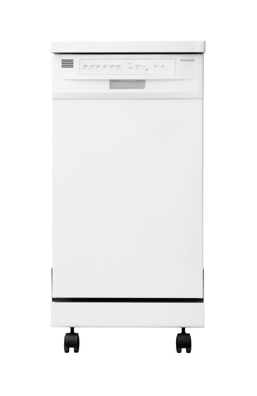 Frigidaire FFPD1821MW White Portable Frigidaire FFPD1821M 18 Portable Dishwasher with Stainless Steel Interior and D