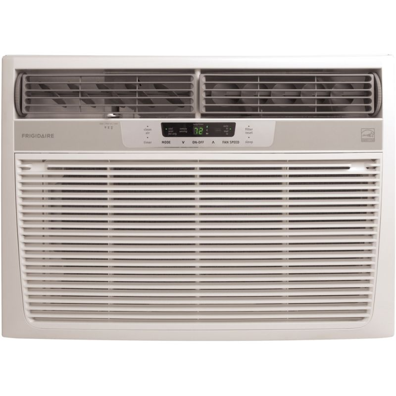 Frigidaire fra156mt1 white 15 100 btu window mounted for 15 width window air conditioner