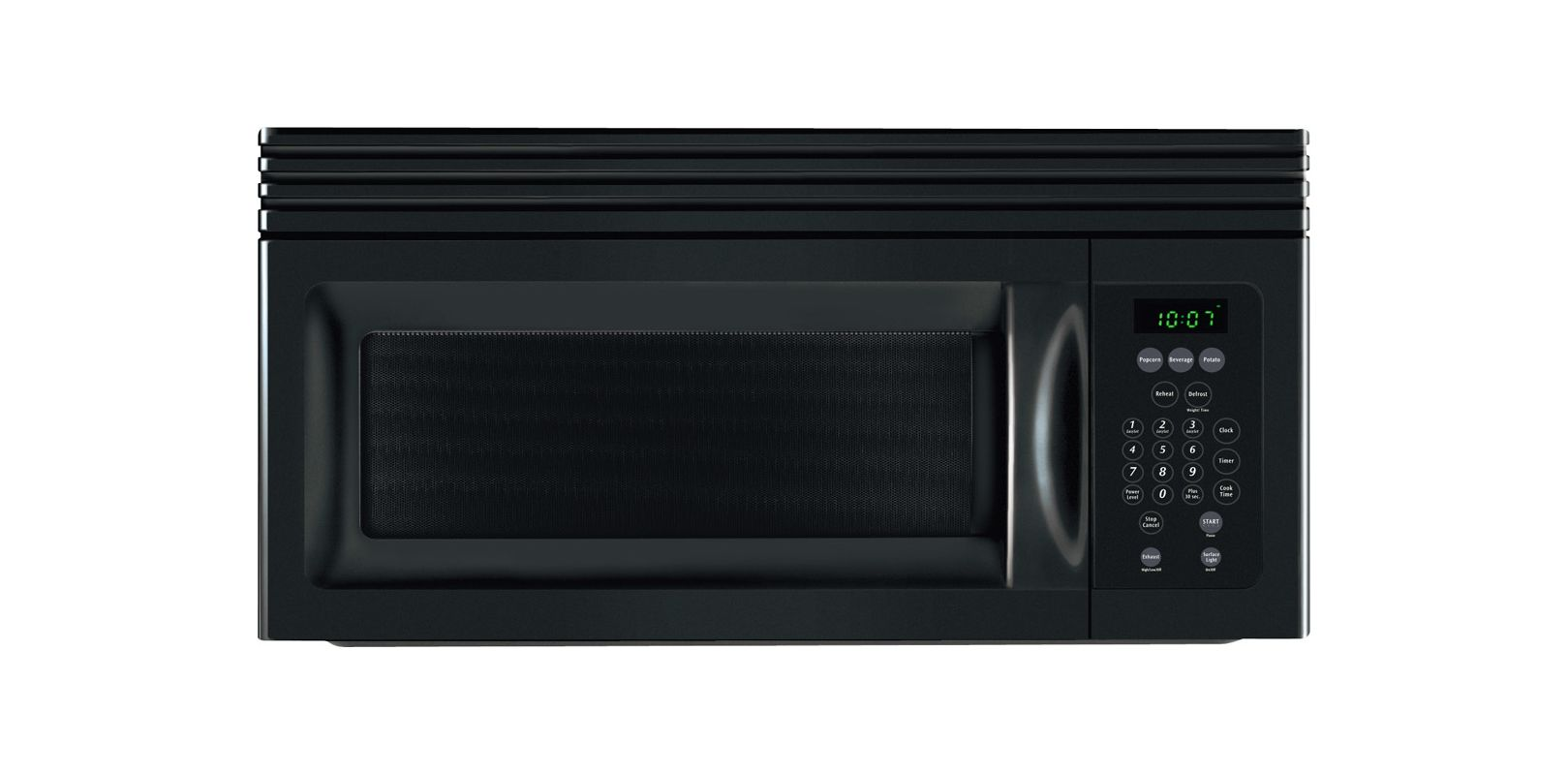 Frigidaire Mwv150kb Black 1 5 Cubic Foot Over The Range