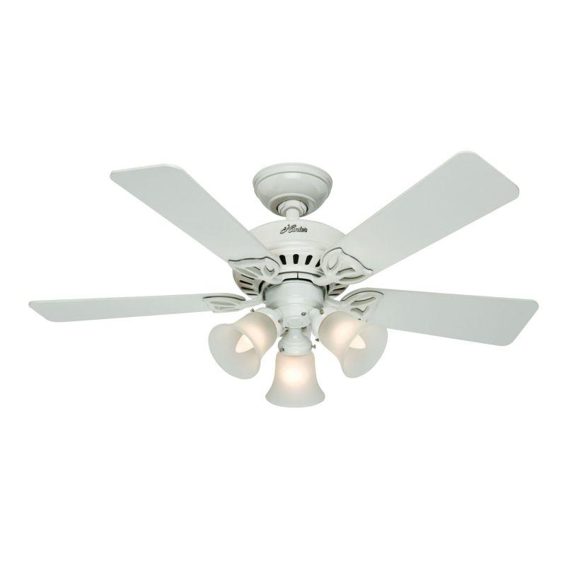 Hunter White Fan