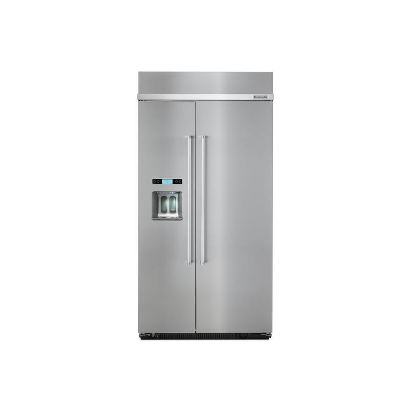 Kitchenaid Kbsd618ess Stainless Steel Fridge Kitchenaid