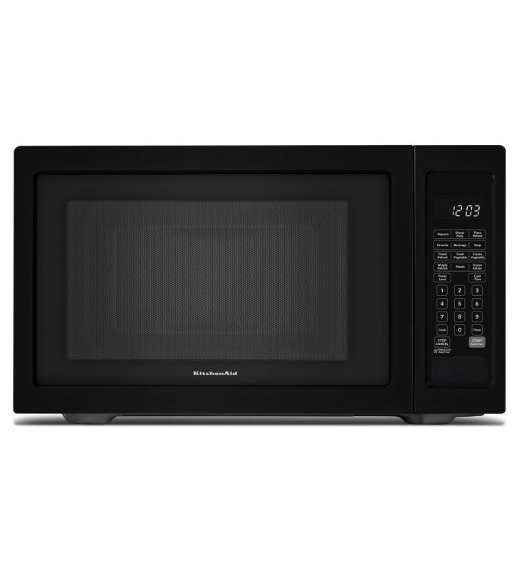 Countertop Microwave 22 Inches Wide : ... Kcms1655b 22 Inch Wide 16 Cu Ft Countertop Microwave From The Arch