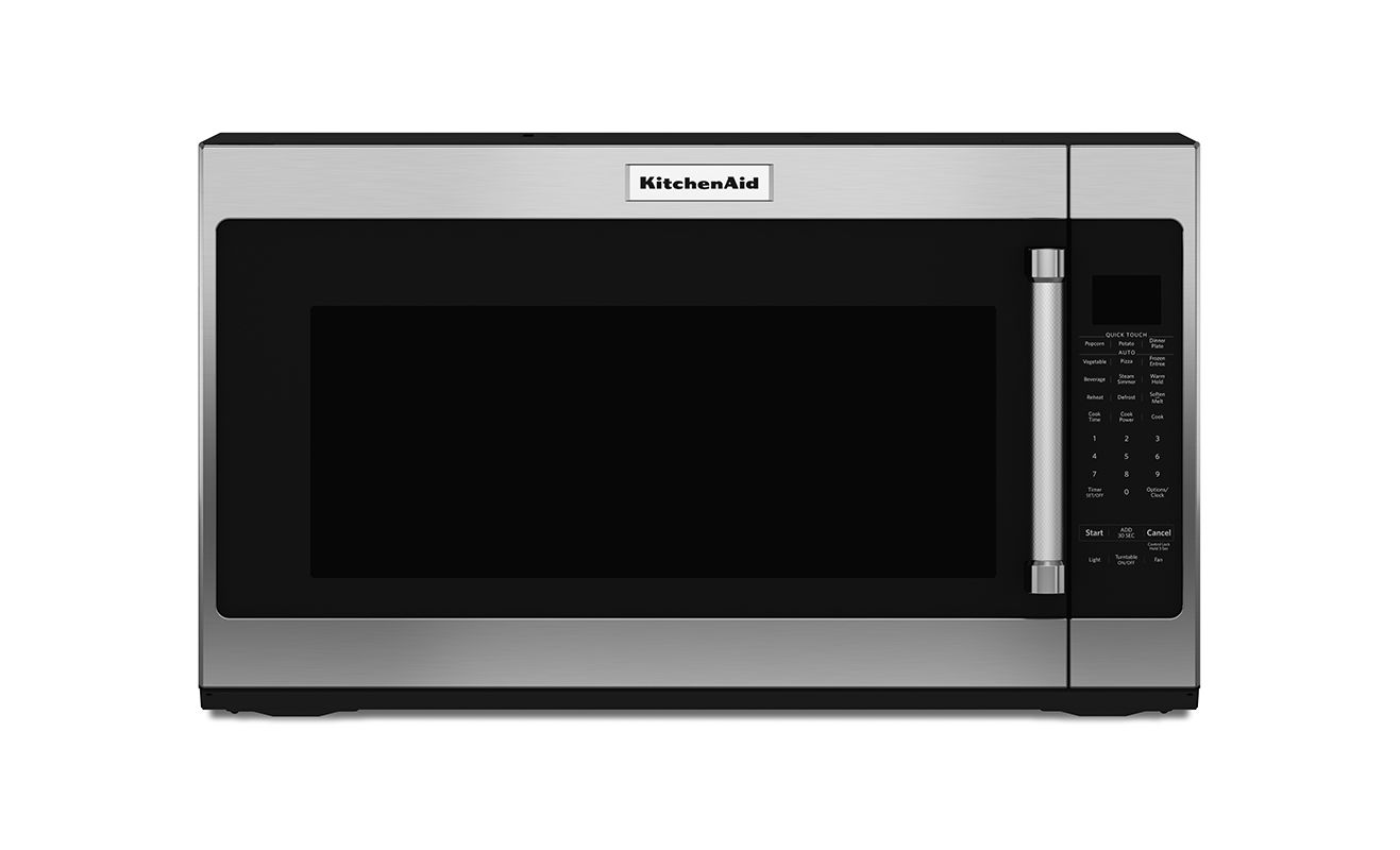 Kitchenaid over usa for Built in microwave 24 inches wide