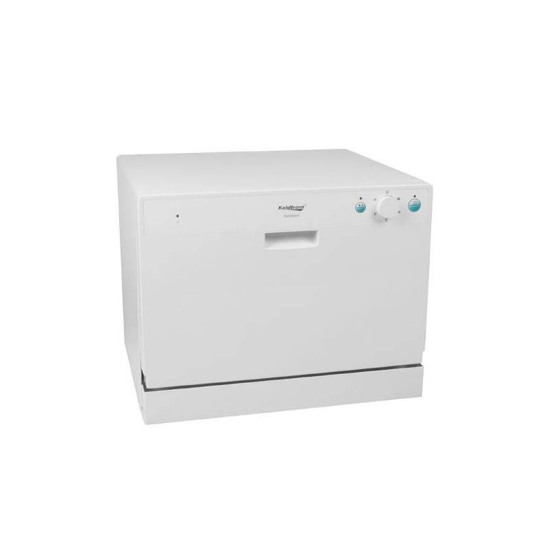 Countertop Dishwasher Magic Chef : ... PDW60E 22 Inch Wide 6 Place Setting Countertop Dishwasher with High He