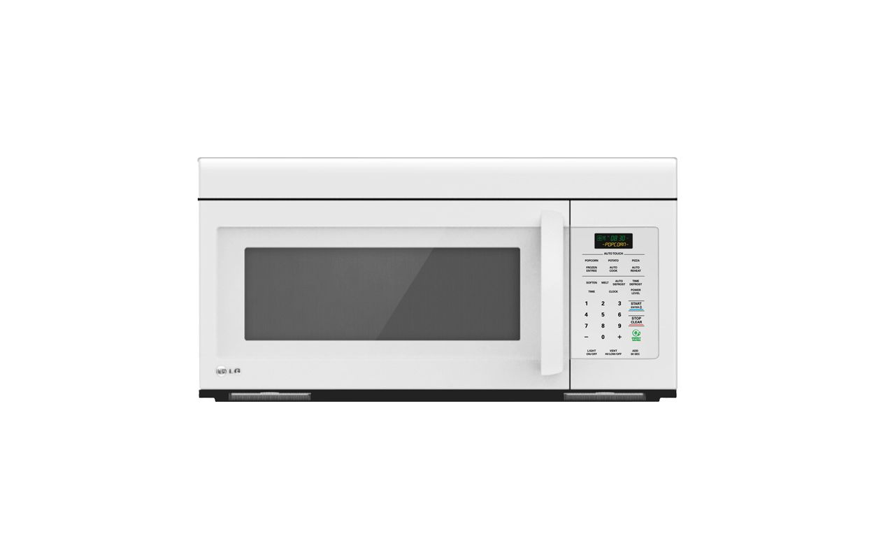 LG LMV1683SW White 1.6 Cu. Ft. Non Sensor Over the Range Microwave  #584B24