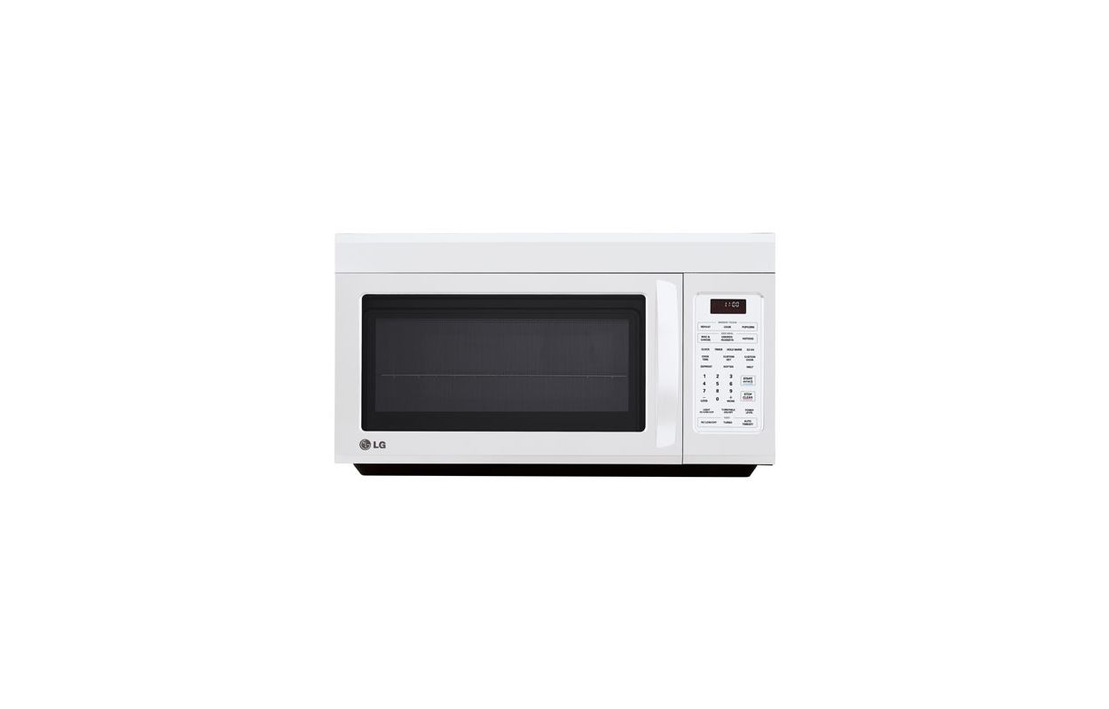 LG LMV1813ST Stainless Steel 1.8 Cubic Feet Over the Range Microwave  #5F656C