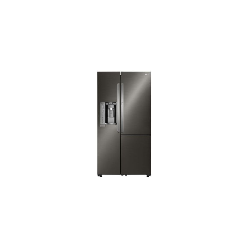lg lsxs26366s 36 inch side by side refrigerator with 26 cu autos post. Black Bedroom Furniture Sets. Home Design Ideas