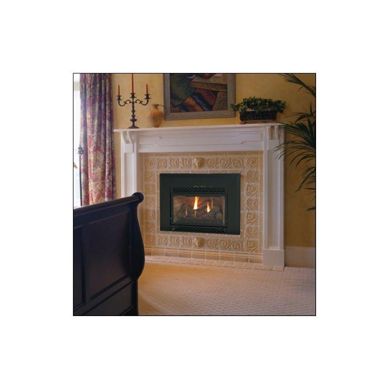 Majestic 380idvnv Black 30000 Btu Direct Vent Natural Gas Fireplace Insert