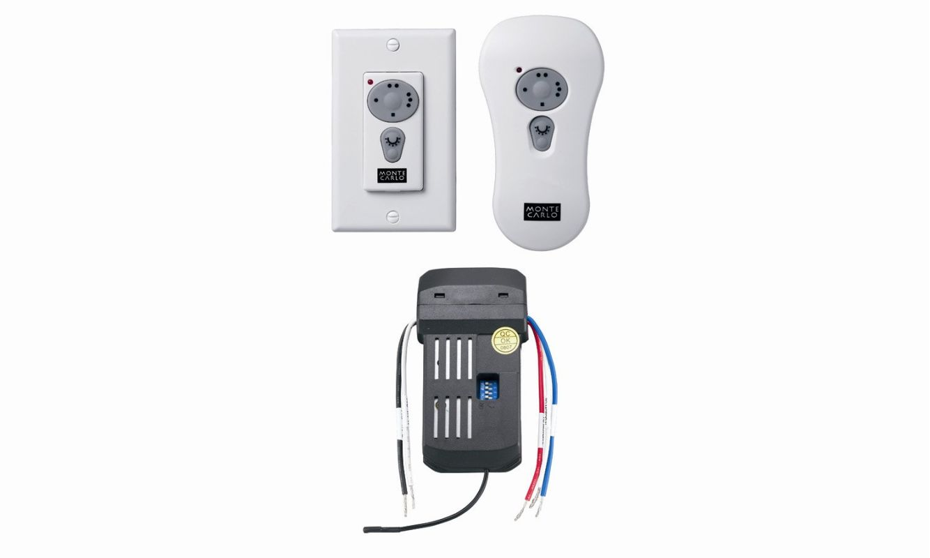 Carlo CK250 White Wall Or Hand Held Remote Control Kit for Converting  #A8233E