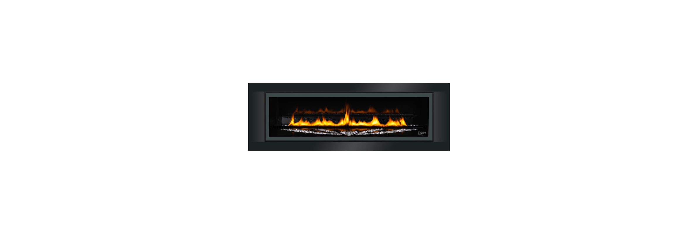 Lgfs45 Stylo Linear Glass Fireplace Front And Surround For Lhd45 Linear Series Gas