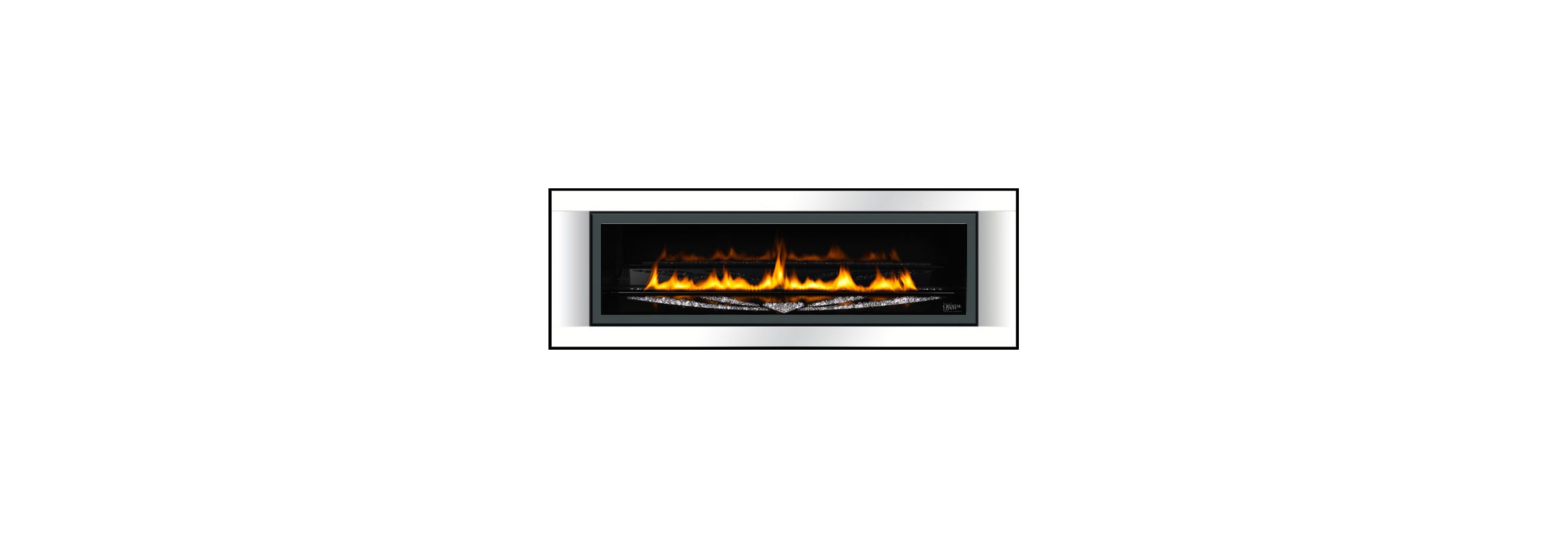 Napoleon Lhdsw50 White Surround Napoleon Lhds50 Linear Fireplace Surround For Napoleon Lhd50ss