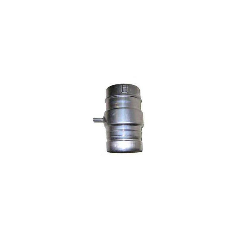 Noritz Dt4 Stainless Steel 4 Inch Diameter Drip Tee